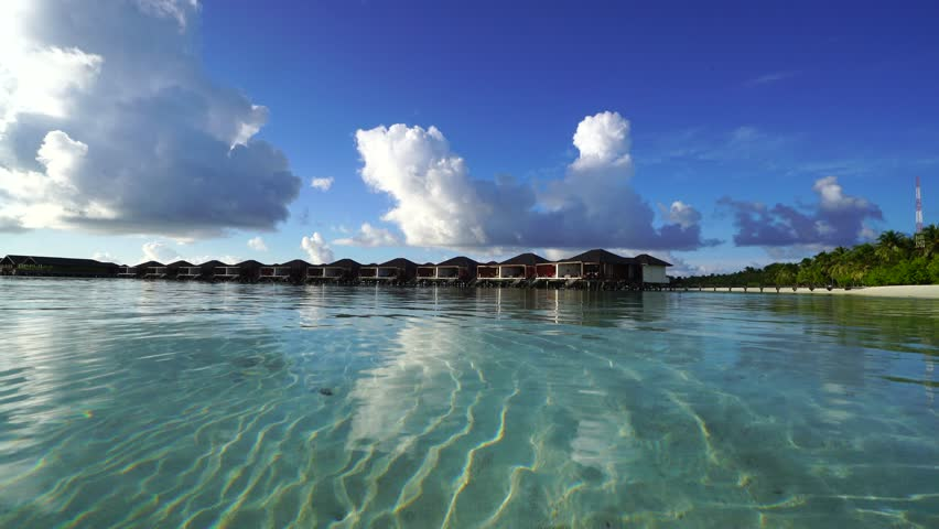 Maldives in sun day, October 2015. | Shutterstock HD Video #22648471