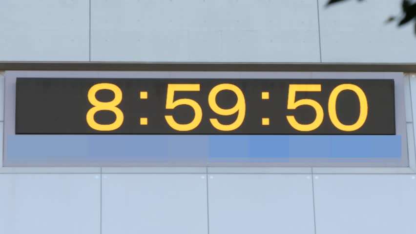 Header of leap second
