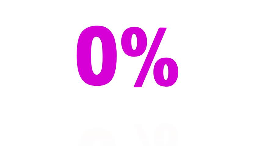 Animated 3D bouncing purple 0% | Shutterstock HD Video #22823509