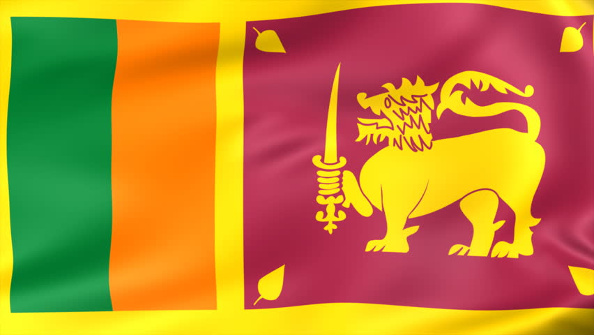 Animated Flag Of Sri Lanka