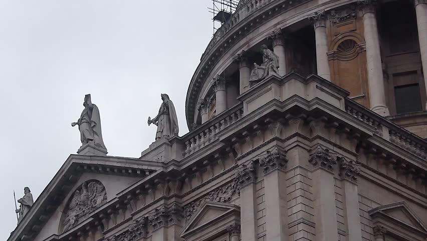 St Paul's Cathedral.   Shutterstock HD Video #22875529