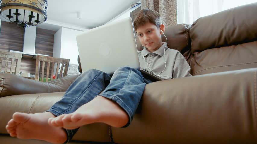 Boy feet videos