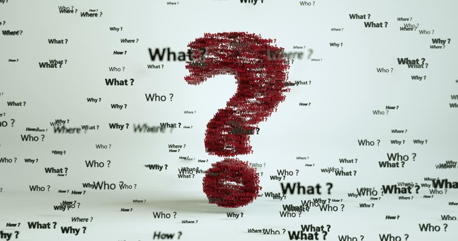Lots of Questions Creating Question Mark