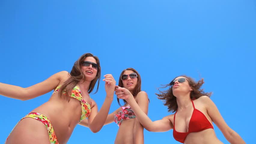 Bikini Girl Dancing