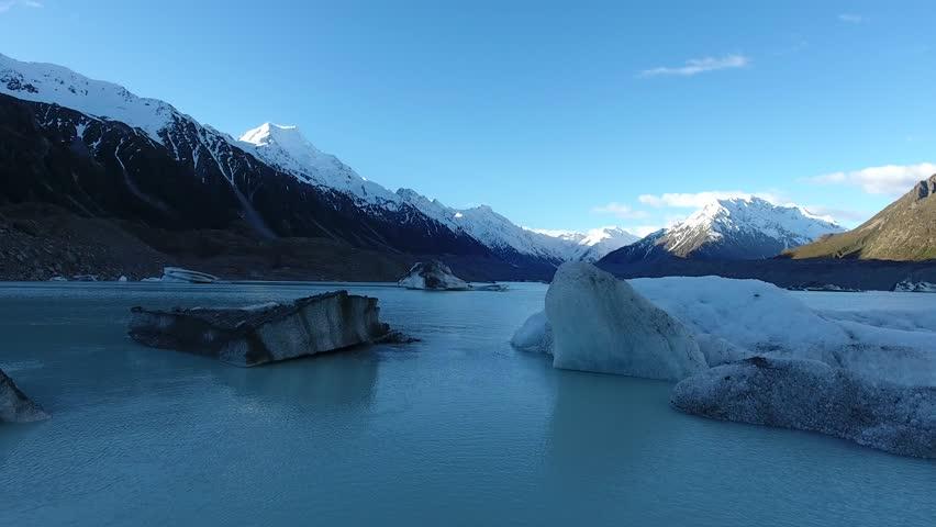 Tasman Glacier lake , mount cook #23029639