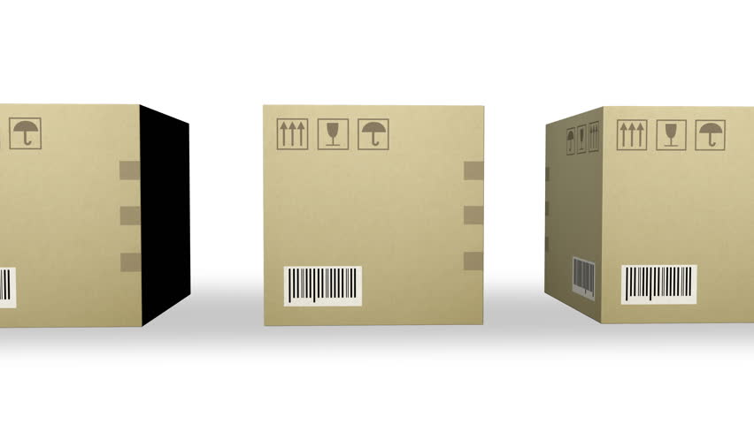 Moving Row of Corrugated Cardboard Stock Footage Video (100% Royalty-free)  23107429 | Shutterstock