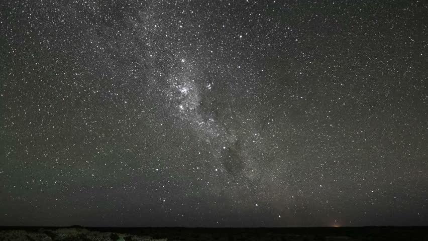 Milky Way night sky star timelapse from desert | Shutterstock HD Video #23149015