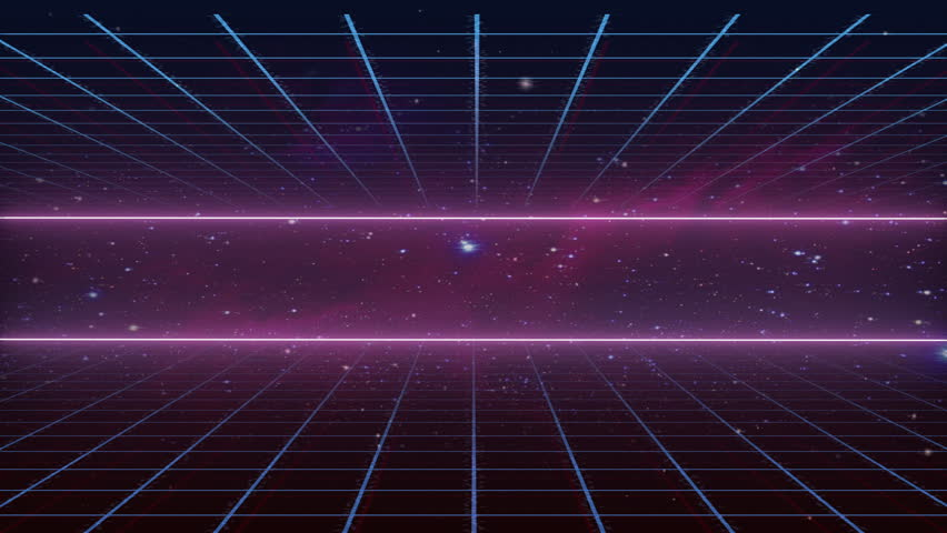 Stock video of 80s retro in space compose 23163739 - Space 80s wallpaper ...