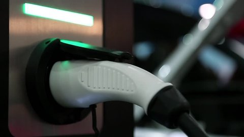 Activated charging device for electric cars