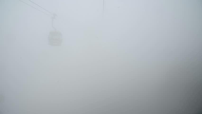 Ngong Ping 360 cable car on Lantau Island, Hong Kong. Cable car to mountain. | Shutterstock HD Video #23204089