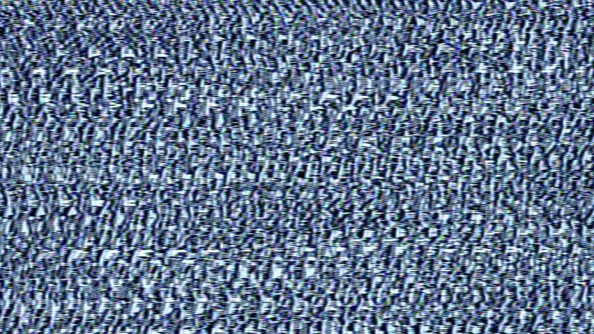 Navy Blue / White Analog HD Video Feedback Pattern Texture  | Shutterstock HD Video #23349769