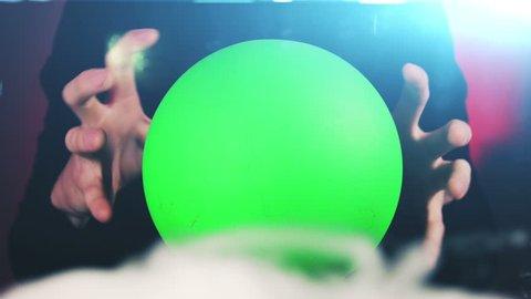 Magic Ball with Green Screen