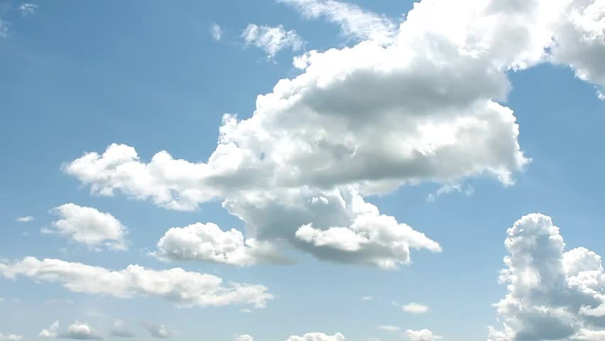 White Clouds & Blue Sky, Flight over clouds, loop-able, cloudscape, day, Full HD, 1920x1080 | Shutterstock HD Video #2350094