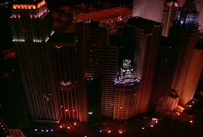 LAS VEGAS - Circa 2002 Aerial footage of New York New York hotel in Las & Background - Dynamic Stage Lighting Stock Footage Video 9187568 ... azcodes.com