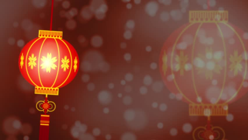 Chinese Lantern Background Stock Footage Video 100 Royalty Free