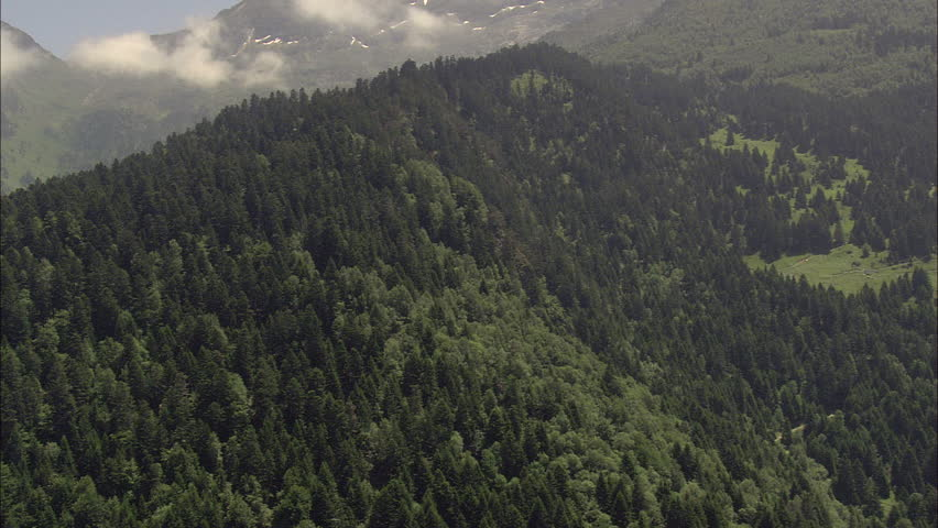 Pyrenees On French Spanish Border