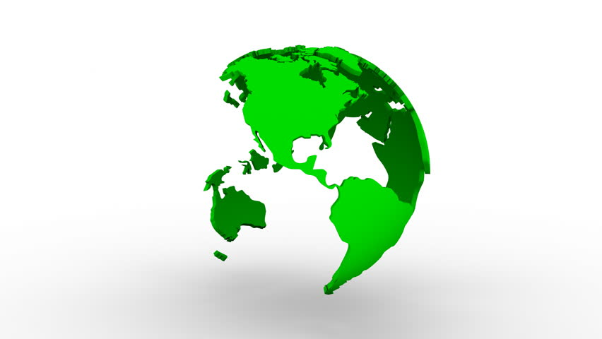 Global team people rotating world earth on green background videos world map turns into a globe white background 2 in 1 loop gumiabroncs Choice Image
