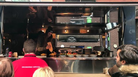 Gourmet Food Trucks Stock Video Footage 4k And Hd Video Clips