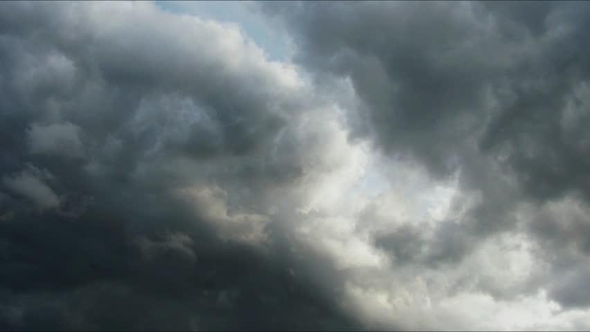 beautiful clouds timelapse