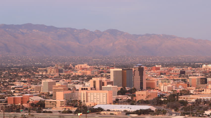 4K UltraHD Day to night timelapse in Tucson, Arizona