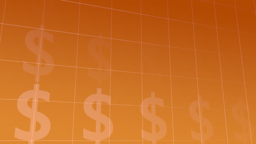 Background with moving Dollar-Symbols, loop-able (3d rendering) | Shutterstock HD Video #24021379