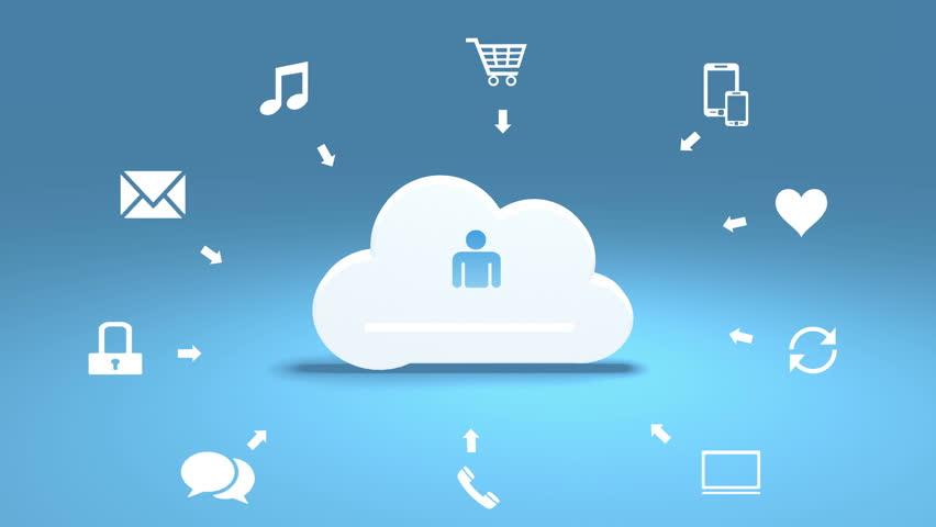 4k,Update the informative cloud,upload progress,web tech background. cg_03804_4k | Shutterstock HD Video #24225169