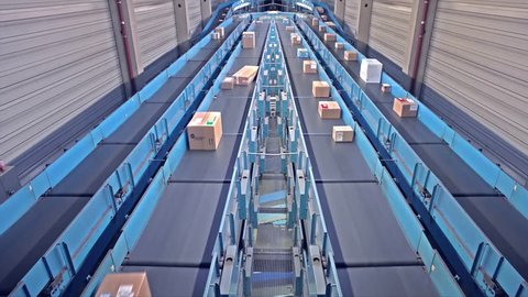 Parcels on conveyors - short version