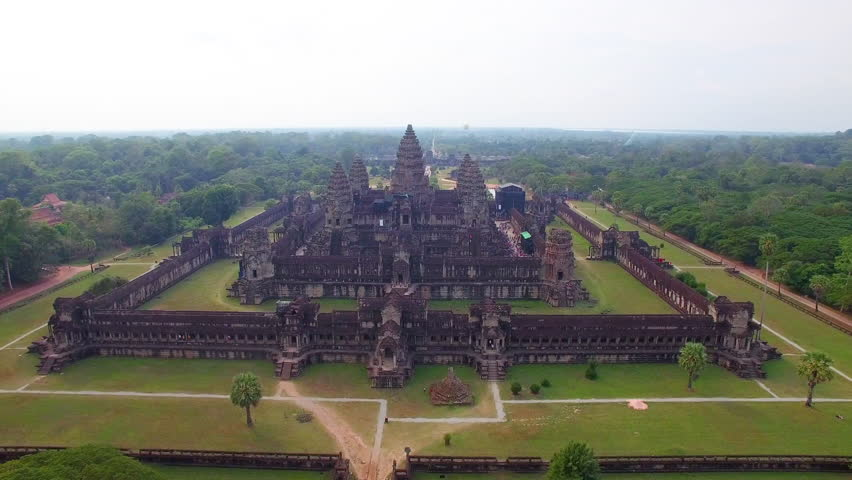 Angkor Wat temple of Cambodia, Siem Reap | Shutterstock Video #24291992