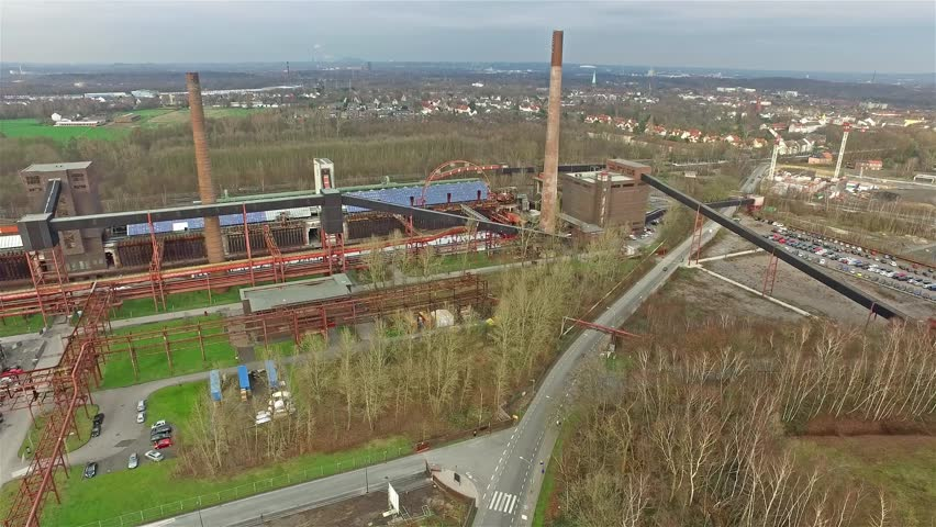 The Zollverein Coal Mine Industrial Complex In Essen Germany - Zollverein germany map
