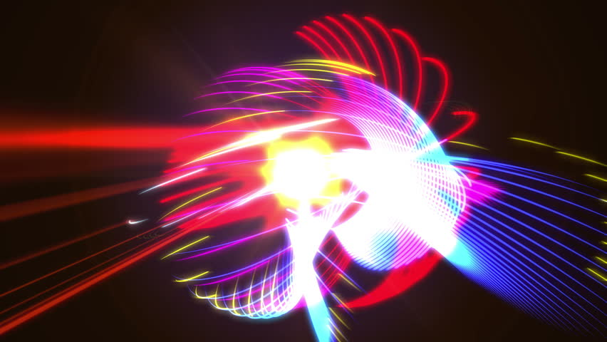 4K abstract colorful light strokes | Shutterstock HD Video #24361457