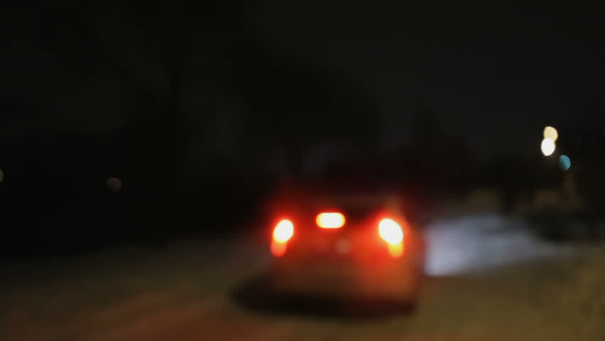 Out of Focus police car goes the distance with the included flashing beacons | Shutterstock HD Video #24365099
