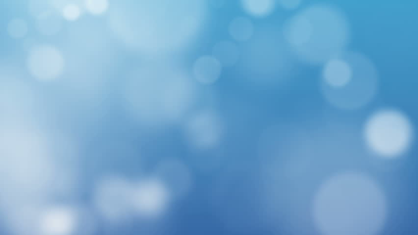 Blue Abstract Lights bokeh background loop 1080