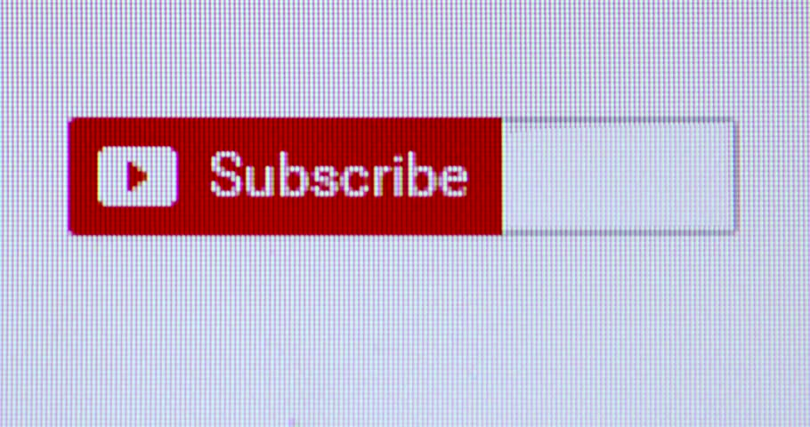 Subscribe button pressed by pointer. Online Subscribing
