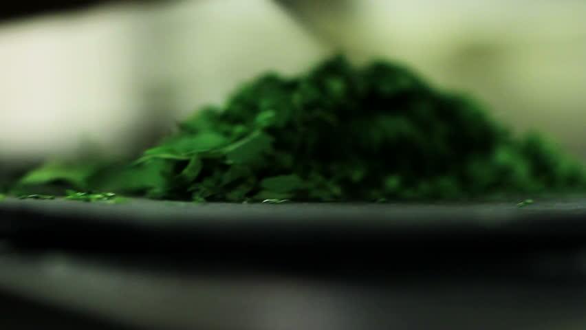 Header of parsley