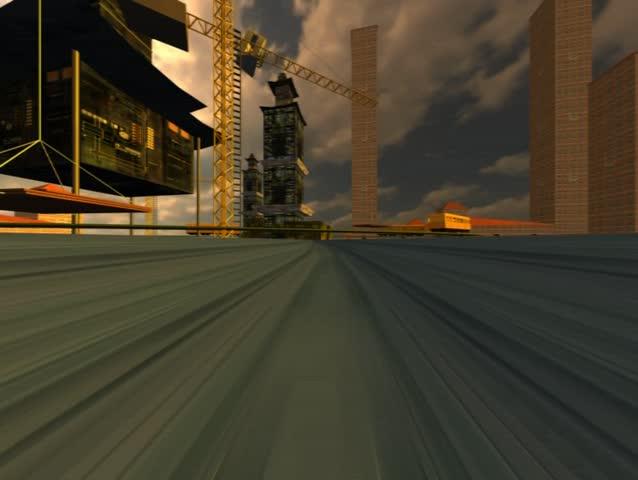 Modern city track | Shutterstock HD Video #245089
