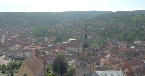 Romanian Castle Medieval town of Sighisoara.