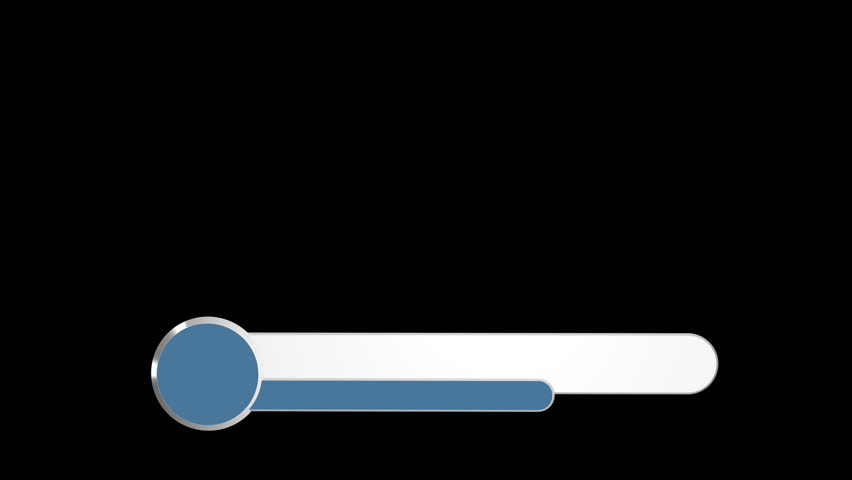 Blue Banner Lower Third Full Hd 1080p Animation Frame