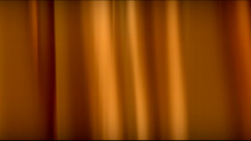 slow motion golden silk curtain loopable