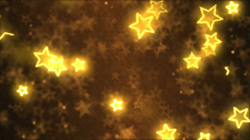 Drawing Star Shapes Motion Background Animation - Loop Golden | Shutterstock HD Video #24953459