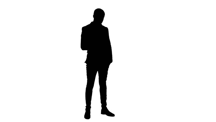 Image result for silhouette of a man