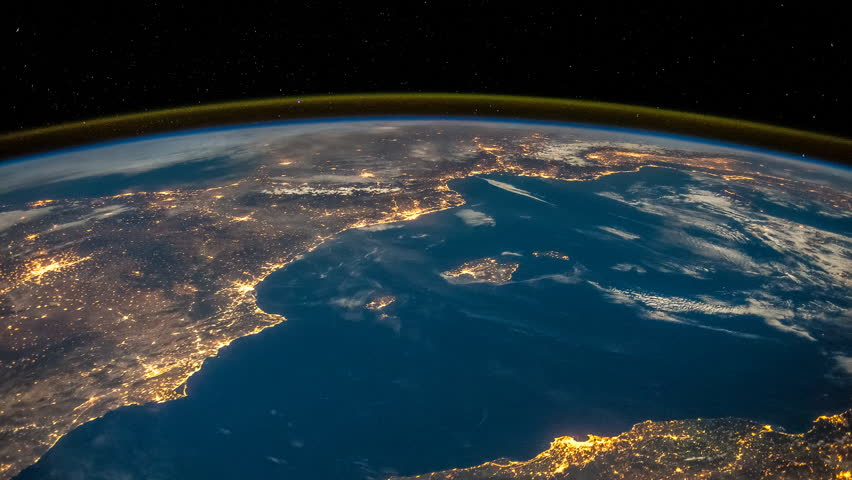 international space station iss earth view �� �����