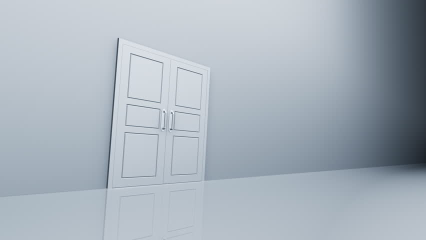 Door Opening. - HD stock video clip & Empty Abstract Room With Doors Opening To A Bright Light. Stock ... Pezcame.Com