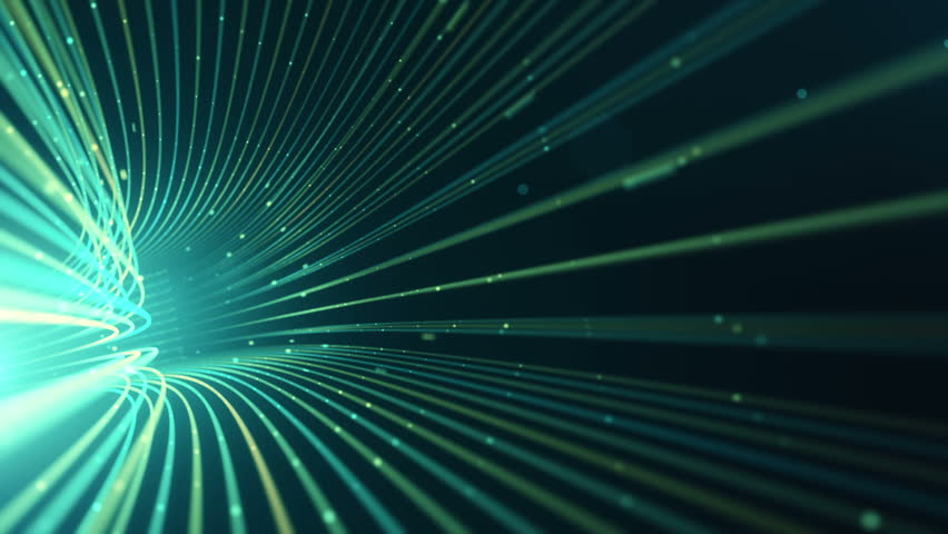Abstract background with animation moving of lines for fiber optic network. Magic flickering dots or glowing flying lines. Animation of seamless loop. | Shutterstock HD Video #25151729