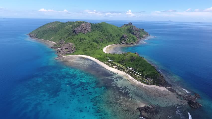 Fiji Islands Tropical Islands Drone Stock Footage Video 100 Royalty Free 25259159 Shutterstock