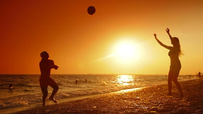 Summer Holiday  On The Beach