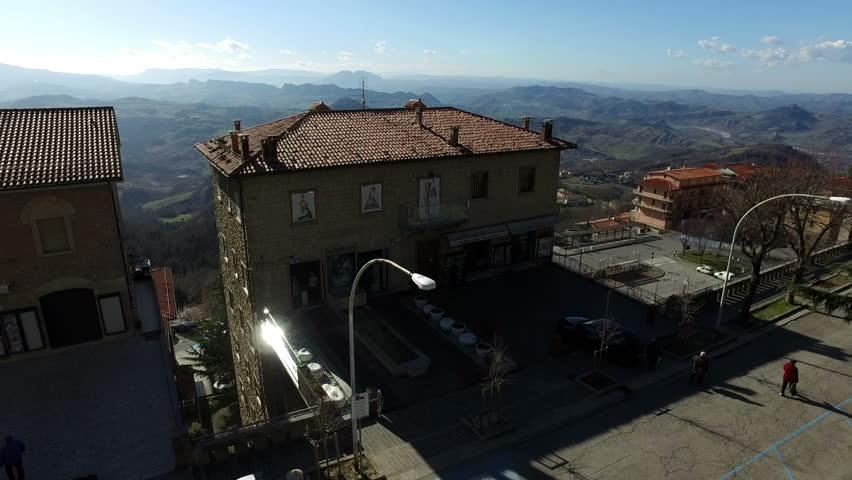 Old buildings in San Marino,27 February 2017   Shutterstock HD Video #25280804
