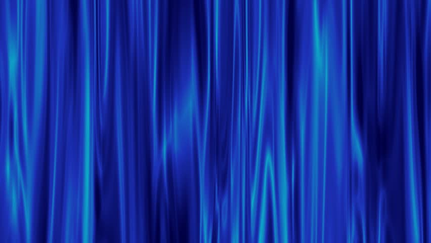 Blue Aura Of Light That Shines Through Animation.   HD Stock Footage Clip