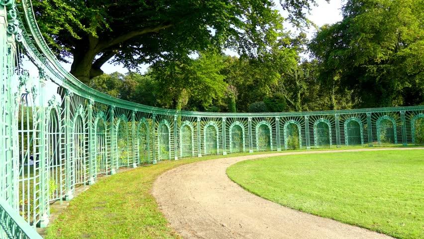 Flower Garden in Sanssouci Park Stock Footage Video (100% Royalty ...