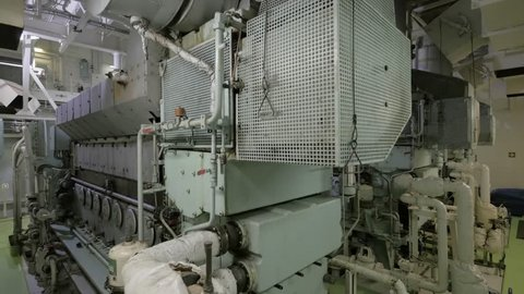 Diesel generators of ship