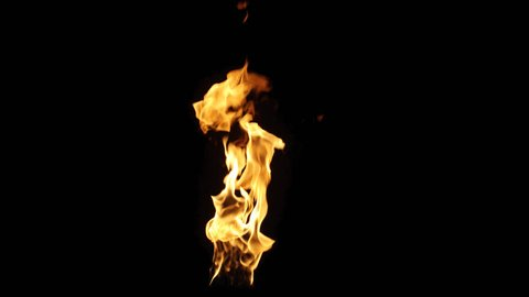 Real fire flame with alpha. Shot on RED in 4K and slow motion. Simple video-integration. Its pre-keyed and edited to retain its color when composited in your video. Version 108
